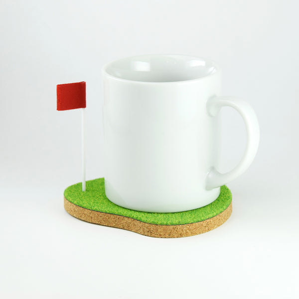 Shibaful Sport  Golf Green Coaster