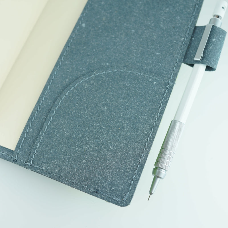 Shibaful x Recycled Leather Diary Note Cover