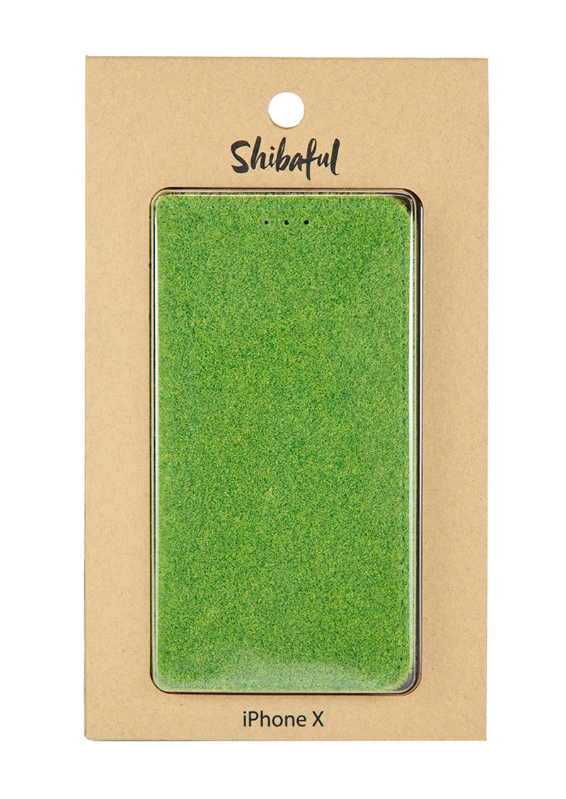 Shibaful -Yoyogi Park- Flip Cover for iPhone XS/X