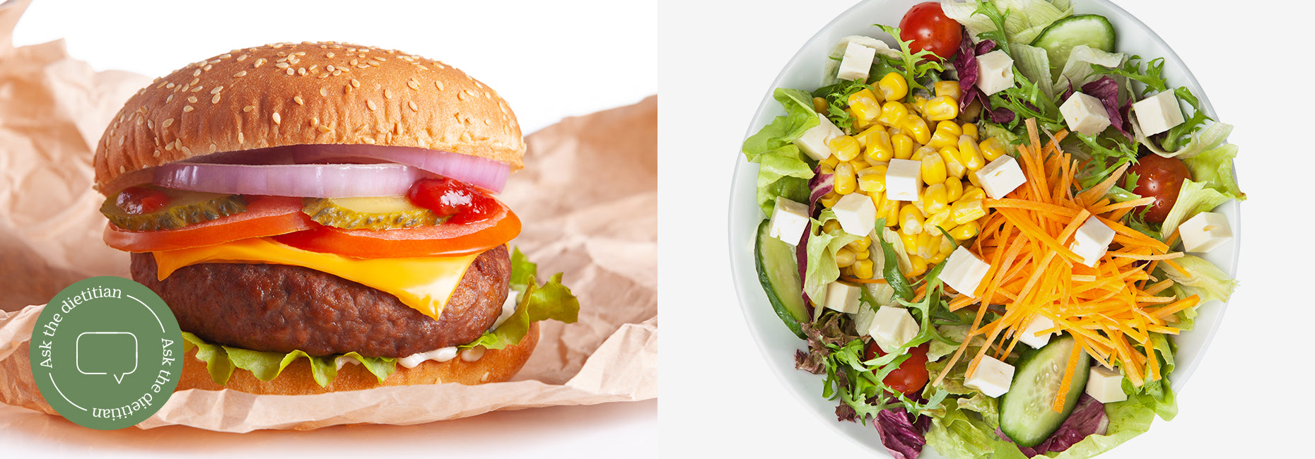 "Ask the Dietitian: ""Sometimes fast food is my only option. What should I stick to?"""