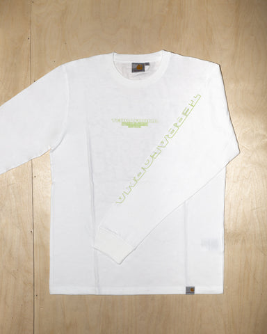 LONGSLEEVE TEE TF2018 (GREEN/WHITE)