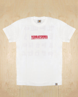 SHORTSLEEVE TEE ALPHABET TF2019 (WHITE)