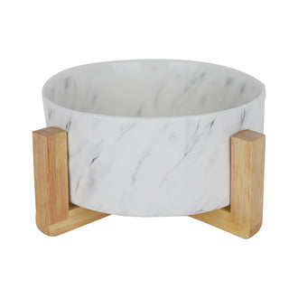 Nordic Marble Dog Bowl Pet Bowl