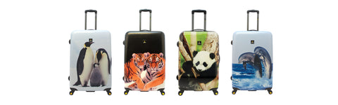 National Geographic Panda luggage  Dolphin luggage Tiger luggage