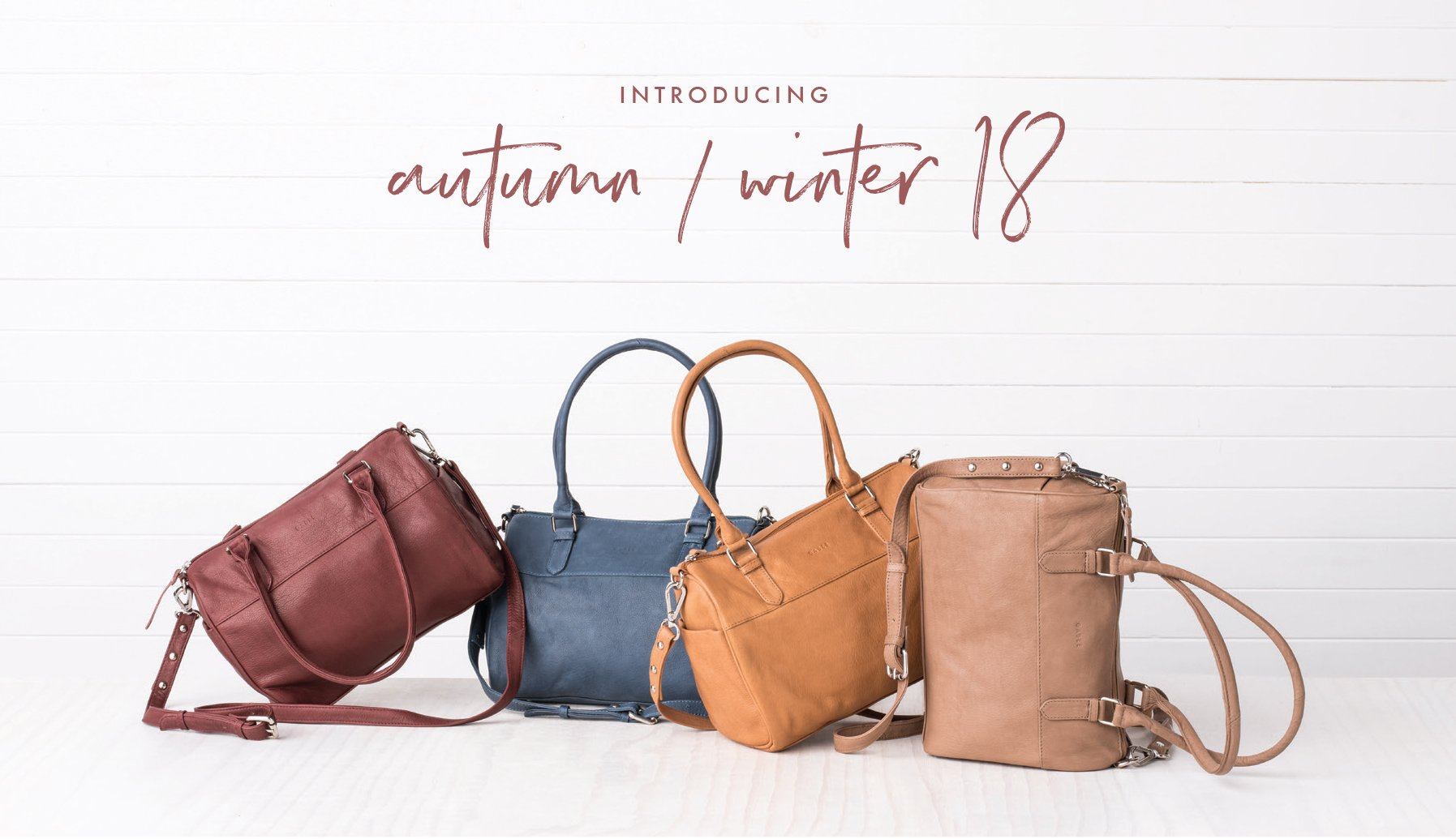 Leather Handbags Australia | Shop Convertible