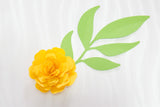 9 rolled paper flower svg for 3D rolled flowers with leaves-by Illustrator Guru