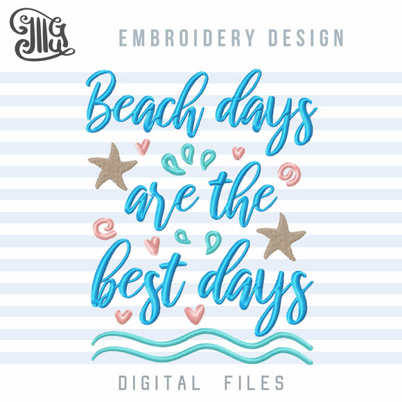 Beach Embroidery Patterns, Ocean Embroidery Designs for Beach Towels, Starfish Embroidery Files, Summer Vacation Embroidery Stitches, Nautical Embroidery,-by Illustrator Guru