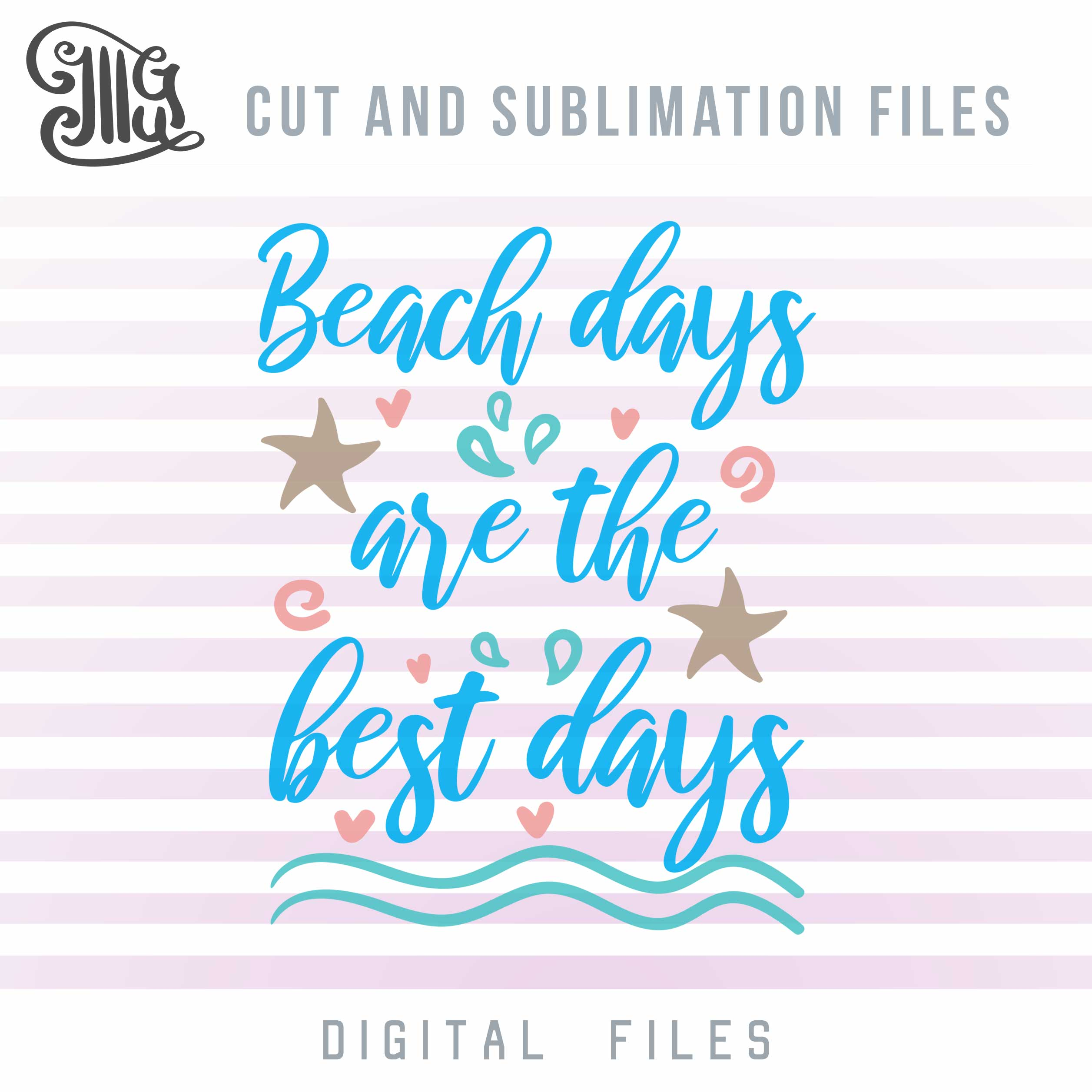 Beach Svg, Ocean Quotes, Starfish Svg, Beach Sayings, Ocean Wave Quotes, Beach Sayings for Cups, Summer Vacation Svg, Tropical Svg, Summer Svg,-by Illustrator Guru