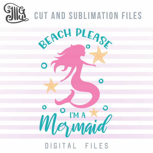 Beach Svg, Starfish Svg, Mermaid Svg, Bubbles Svg, Nautical Svg, Svg Cutting Files, Sea Svg, Ocean Quotes, Beach Sayings, Summer Svg,-by Illustrator Guru