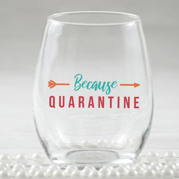 Quarantine Svg for Quarantine Wine Glass Gifts, Flu Quarantine PNG Sublimation, Stay Home Svg Cut Files, Isolation Quotes-by Illustrator Guru