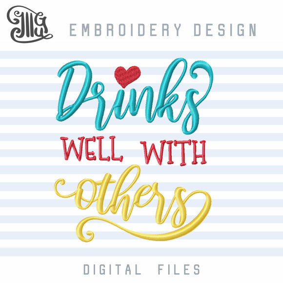 Free Drinking Embroidery Designs, Alcohol Quotes Funny, Wine Embroidery Sayings, Beer Embroidery, Cocktail Embroidery, Kitchen Towels Embroidery, Tea Towels Embroidery, Wine Bags Embroidery, Drinking Shirts Embroidery, Free embroidery-by Illustrator Guru