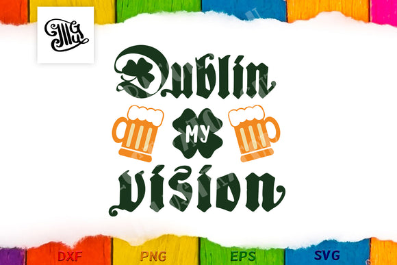 Dublin my vision-by Illustrator Guru