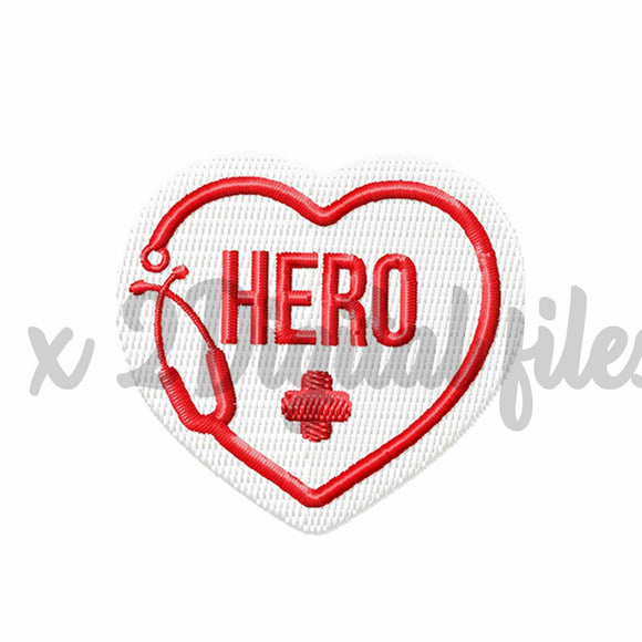 Free Front-Line Worker Embroidery Design Applique, Doctor Embroidery Image, Nurse Embroidery Patch, Pes File-by Illustrator Guru