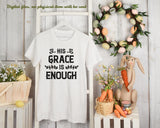 Religious Machine Embroidery Designs, Christian Embroidery Patterns, Bible Verses Embroidery Files, Grace Embroidery,-by Illustrator Guru