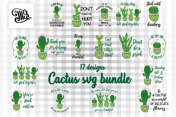Cactus SVG bundle, southern svg bundle, Southern girl svg, funny southern svg, cactus sayings svg, succulent svg file, cactus clipart,-by Illustrator Guru