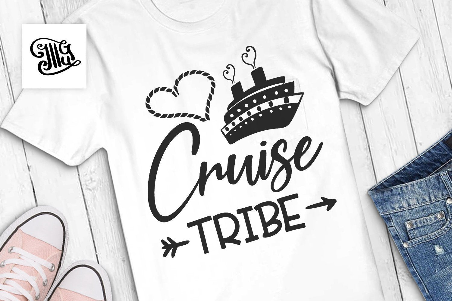 Free Cruise Svg Files for Funny Cruise Shirts | Cruise Tribe SVG-by Illustrator Guru