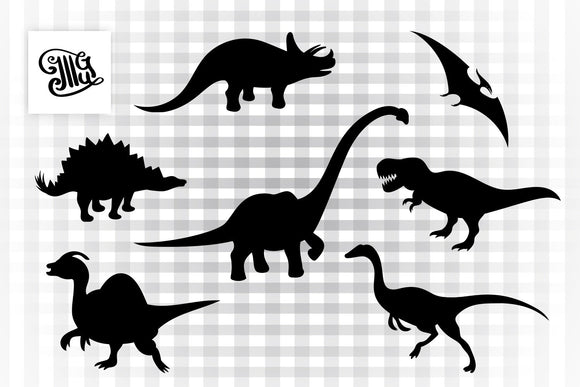 Dinosaur svg bundle, T Rex svg, Long neck dinosaur svg, raptor dinosaur svg, pterodactyl dinosaur svg, stegosaurus svg, dinosaur clipart-by Illustrator Guru