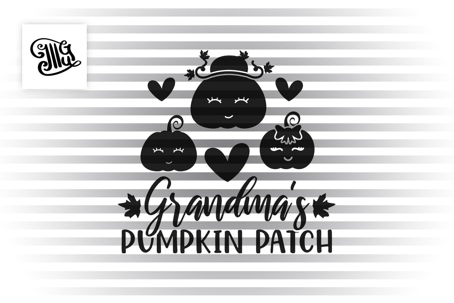 Grandma S Pumpkin Patch Svg Pumpkin Grandma Svg Pumpkin Kids Svg Pu Illustrator Guru