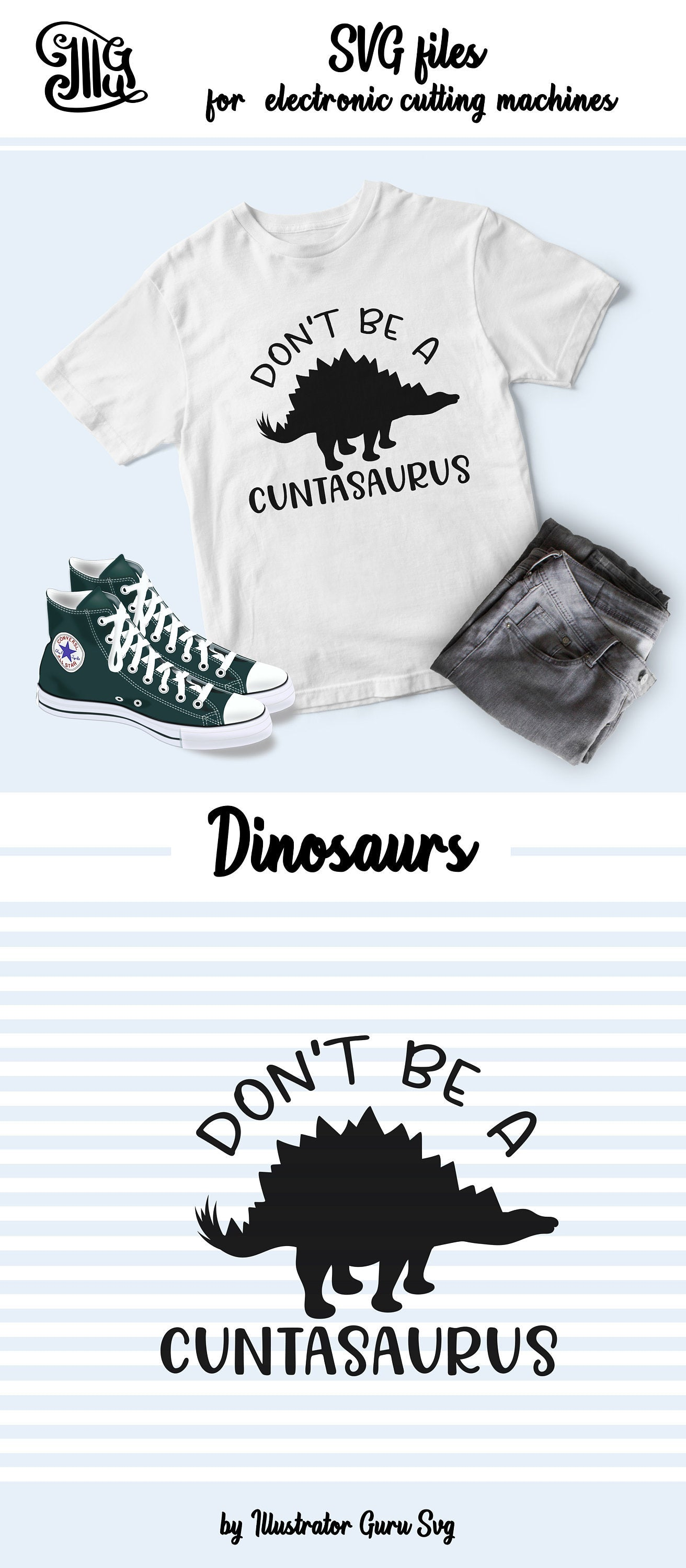 Don't be a cuntasaurus svg, dinosaur girl svg, girl svg, funny girl sayings svg, funny dinosaur svg, dino svg, dinosaur clipart,-by Illustrator Guru