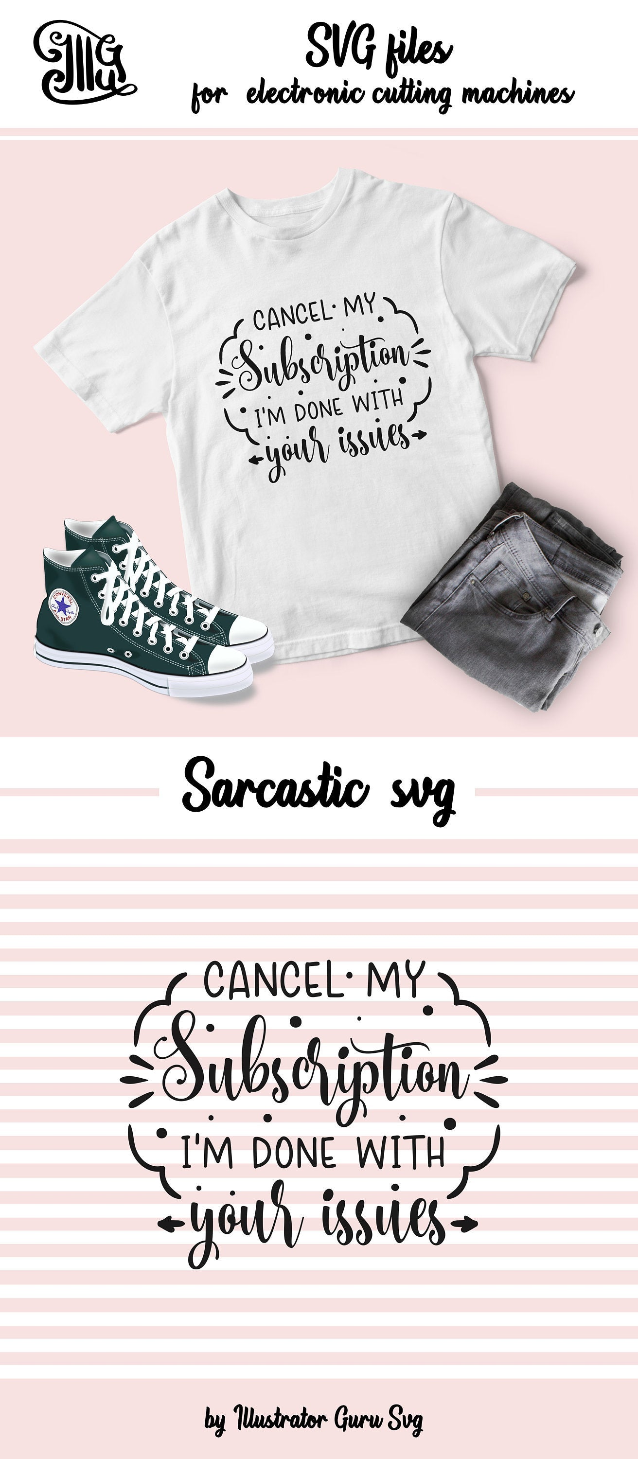Cancel my subscription I'm done with your issues SVG, sarcastic svg, sarcasm svg, sarcastic girl svg, funny sarcastic svg, sarcasm clipart,-by Illustrator Guru