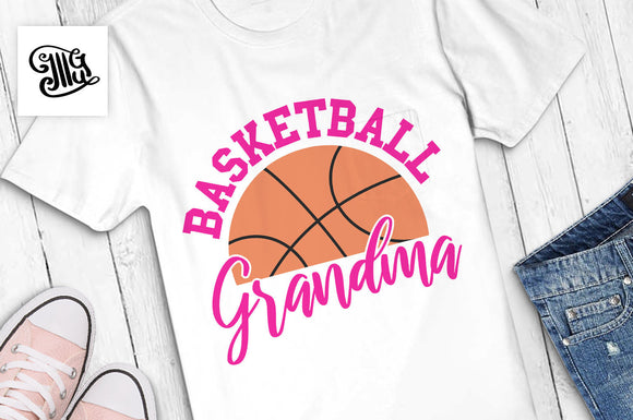 Basketball grandma SVG, basketball svg, basketball season svg, basketball grandma shirt svg, basketball shirt svg,-by Illustrator Guru