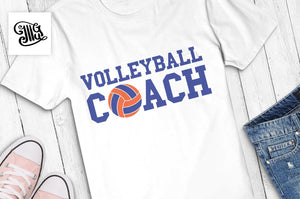 Volleyball coach svg, volleyball svg, volleyball coach shirt svg, volleyball clipart, coach svg, voleyball sayings, voleyball quotes,-by Illustrator Guru