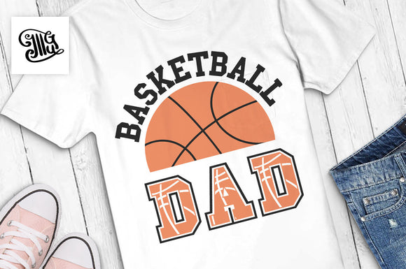 Basketball dad SVG, basketball svg, basketball season svg, basketball dad shirt svg, basketball shirt svg, basketball dad cut file-by Illustrator Guru
