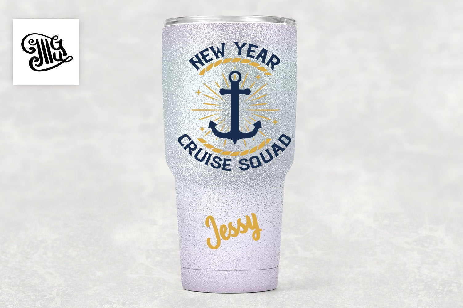 New Year Cruise Squad Svg for Friends and Family Cruise Shirts-by Illustrator Guru