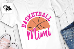 Basketball grandma svg, basketball shirts svg for grandma, Basketball mimi svg-by Illustrator Guru