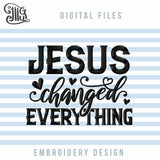 Jesus Embroidery Designs, Religious Embroidery Patterns, Christian Embroidery Files, Love Embroidery, Bible Verses Embroidery, Sayings Embroidery, Heart Embroidery, Machine Embroidery-by Illustrator Guru