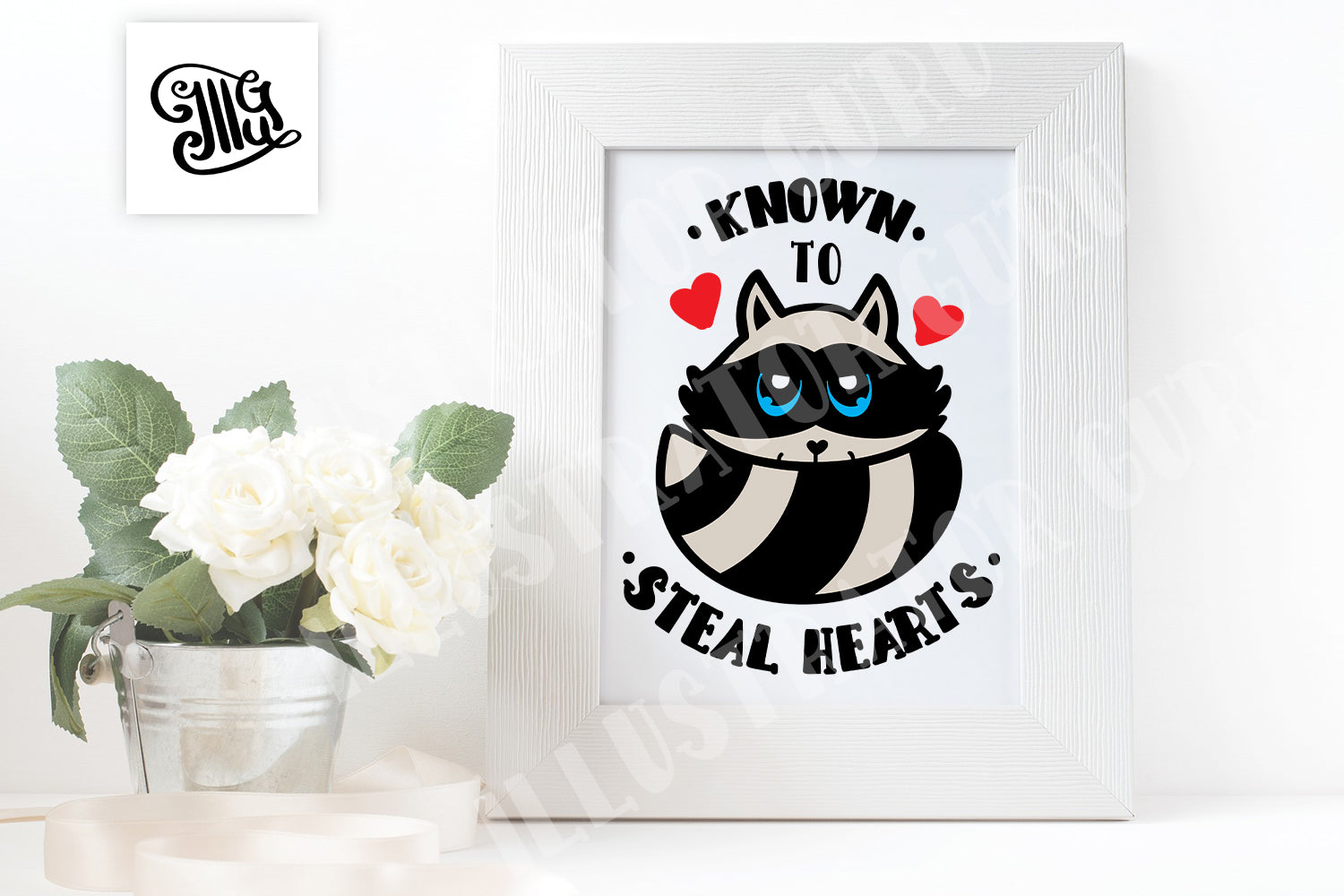 Known to steal hearts svg, Valentine svg for boy or girl, kid, toddler, baby-by Illustrator Guru