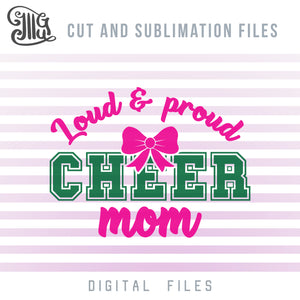 Cheer Mom Clipart, Cheer Mom Shirts SVG, Cheer Mom Sublimation, Cheer Mom PNG, Cheer Sayings for Shirts, Cheer Mom SVG,-by Illustrator Guru