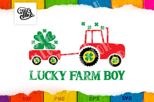 Lucky farm boy-by Illustrator Guru
