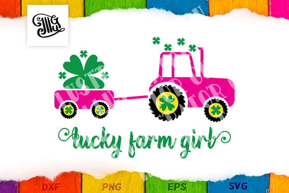 Lucky farm girl-by Illustrator Guru