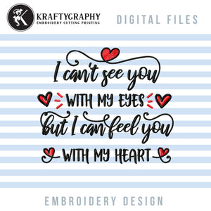 Memorial Embroidery Designs Free, Sympathy Embroidery Patterns Free, Grief Embroidery Sayings Free, in Memory of Embroidery Files Free, Free Embroidery-by Illustrator Guru