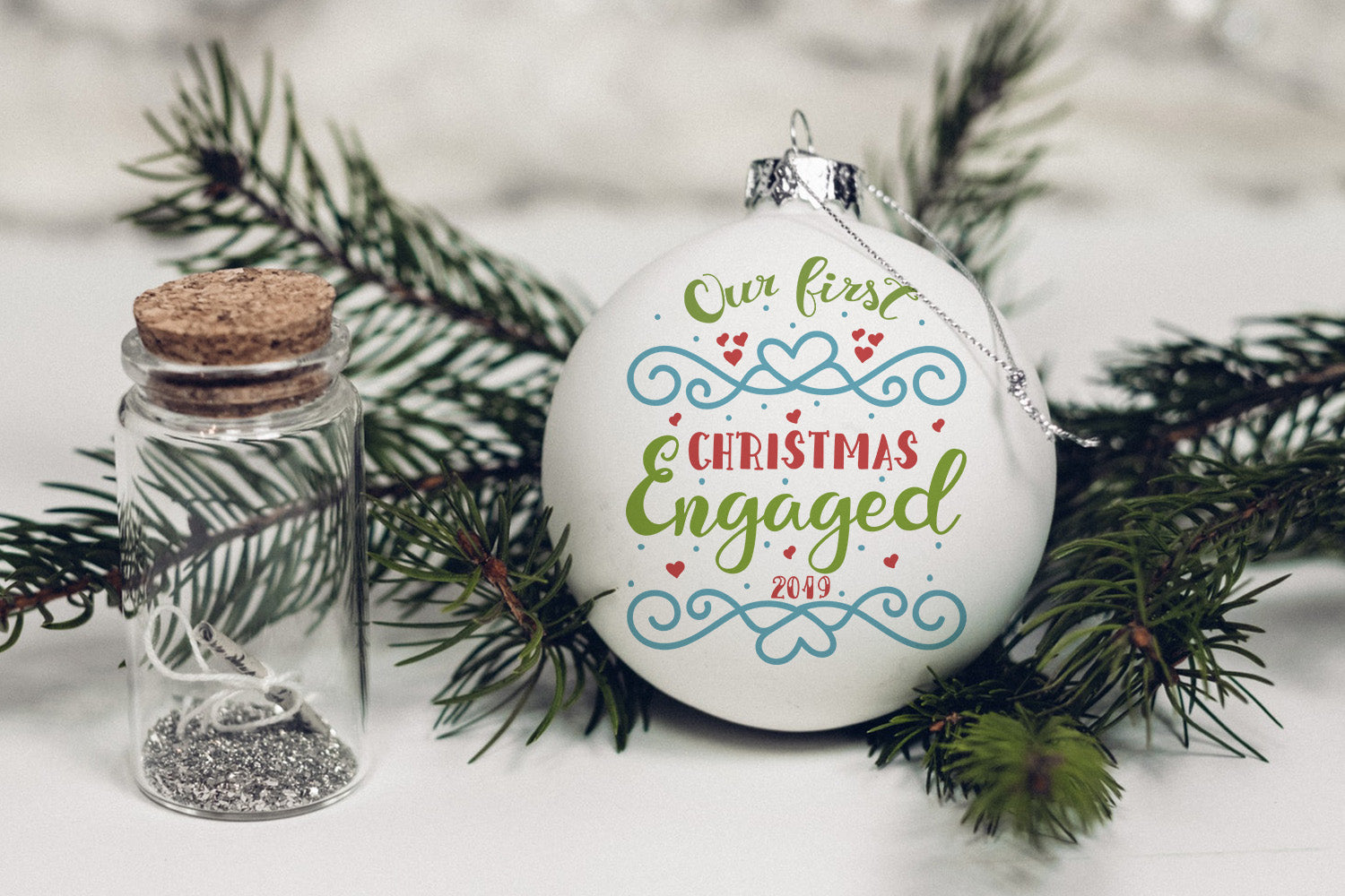 Our first Christmas engaged-by Illustrator Guru