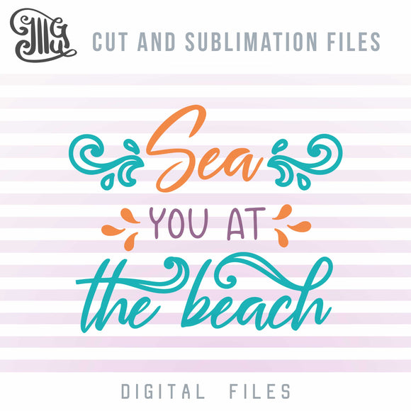 Ocean Wave Quotes, Beach Sayings for Cups, Summer Break Svg, Summer Vacation Svg, Beach Svg, Nautical Svg, Svg Cutting Files, Sea Svg,-by Illustrator Guru