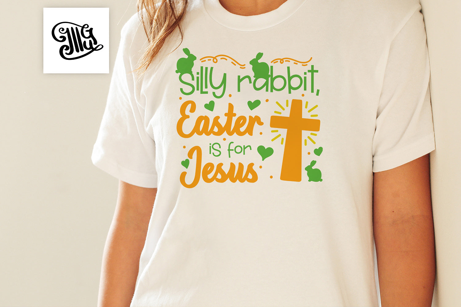 Silly rabbit, Easter is for Jesus svg | Religious Easter svg | Christianity Easter svg | Jesus svg | Easter bunny svg | Easter cross svg-by Illustrator Guru