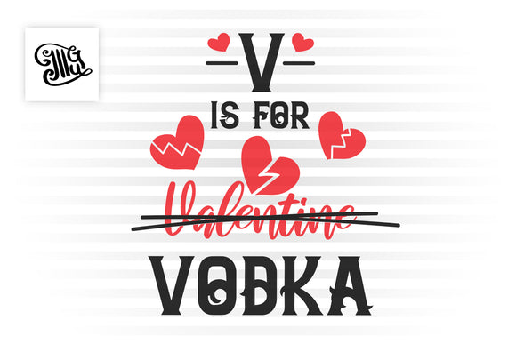 Free Anti Valentine svg for funny valentine crafts-by Illustrator Guru