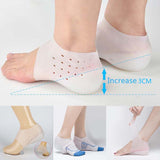 Invisible Height Socks Heel Pads