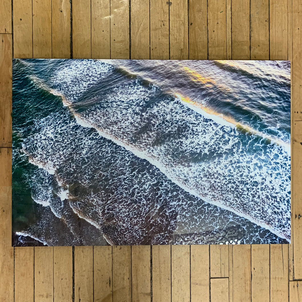 Sunrise Aerial #3 24x36 Metal Print #1958  - Cate Brown Photography