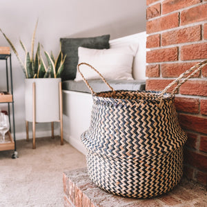 Black & Tan Borneo Basket