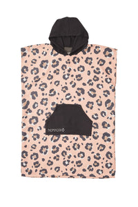 Leopard Pink Changing Poncho- Nomadix