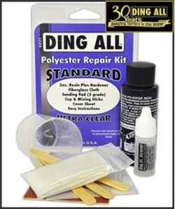 Standard Polyester Repair Kit - Ding All