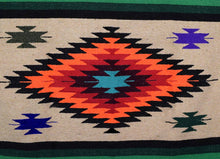 Load image into Gallery viewer, Brown Giant Diamond Mexican Blanket - Rhode Island Surf Co.