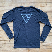 Load image into Gallery viewer, RISC Premium Long Sleeve Tee in Charcoal - Rhode Island Surf Co.