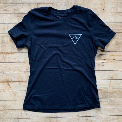 RISC Premium Women's Tee in Black - Rhode Island Surf Co.