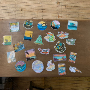 Miscellaneous Stickers - Joe Vickers
