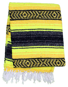 Sunflower  Baja Diamond Mexican Blanket - Rhode Island Surf Co.