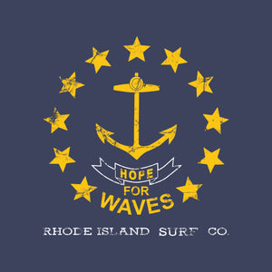 Hope For Waves Sticker - Rhode Island Surf Co.